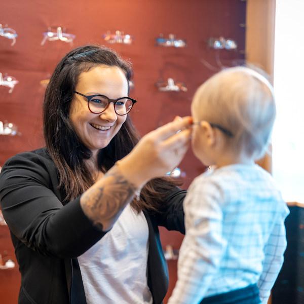 Kinderbrillen von Optik und Hörgeräte Fischer