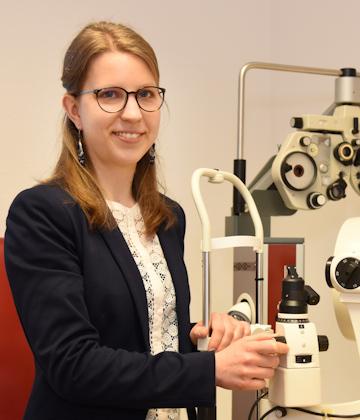 Christina Bentz von Optiker Fischer in Filderstadt-Bernhausen