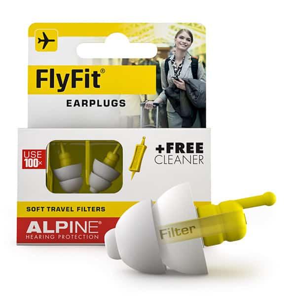 Gehörschutz für Flugreisen